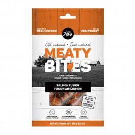 Zeus Meaty Bites Chewy Salmon Fusion Dog Treats 150g (92732) NEW
