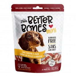 Zeus Better Bones BBQ Chicken Mini Bones 24pcs 570g (92742) NEW