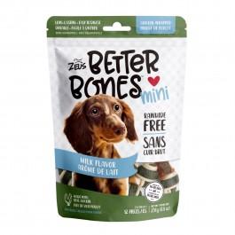 Zeus Better Bones Milk Flavor Chicken Wrapped Mini Bones 12pcs 251g (92754) NEW