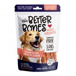 Zeus Better Bones Salmon Flavor Chicken Wrapped Twists 10pcs 114g (92760) NEW