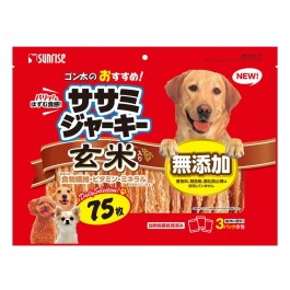 Sunrise Sasami Chicken Jerky with Brown Rice 75pcs (932632)