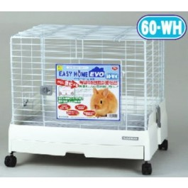 SANKO WILD EASY HOME RABBIT CAGE  - AVAILABLE IN GLOSS BLACK,CREAM,PINK & WHITE [C54]