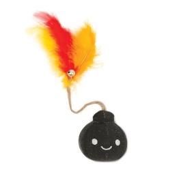 Catit Play Pirates Catnip Toys - Plush Bomb (NEW)