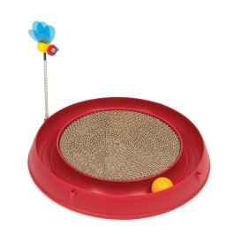 Catit Play 3 in 1 Circuit Ball Toy with Scratch Pad (43000)