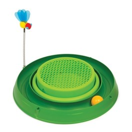 Catit Play 3 in 1 Circuit Ball Toy with Cat Grass (43002)