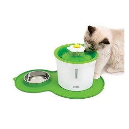 Catit Flower Fountain and Peanut Placemat Combo (NEW) [43730W]