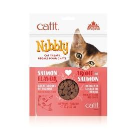 Catit Nibbly Salmon Treats for Cats 90g (44478)