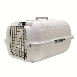 Catit Voyageur Cat Carrier White Tiger Print Small (50887)