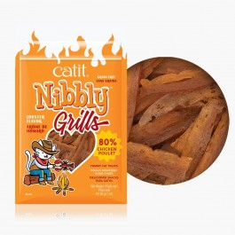 Catit Nibbly Grills Chicken & Lobster Flavour Treats for Cats 30g (44486)