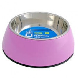 Catit 2 In 1 Durable Bowl Small 350ml Pink (54505)