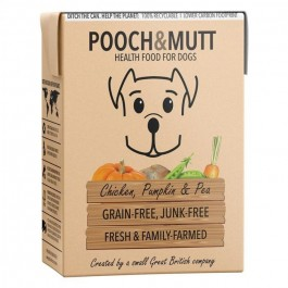 Pooch & Mutt Chicken, Pumpkin & Pea Grain-Free Wet Food 375g - (PM591267)