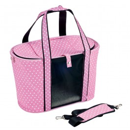 Marukan Soft Carrier for Cat- Pink (CT360)