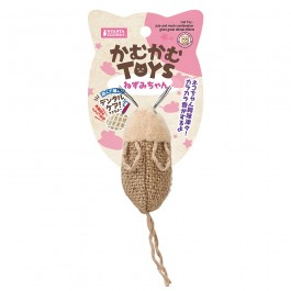 Marukan Mouse Hemp Mesh Dental Cat Toy (CT497)