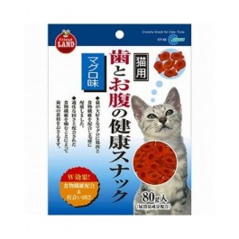 MARUKAN CRUNCHY SNACK FOR CATS - TUNA FLAVOR 80G [CT53]