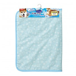 Marukan Cooling Mat Wide Light Blue for Dogs and Cats (DA029)