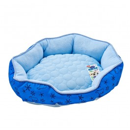 Marukan Cooling Bed Small Navy Blue for Dogs and Cats (DA031)