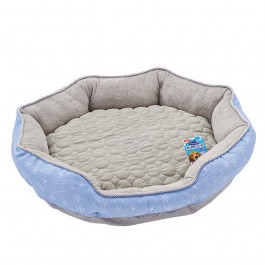Marukan Cooling Bed Medium Blue Grey for Dogs and Cats (DA034)