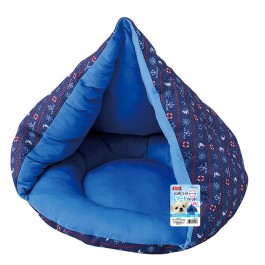 Marukan Cooling Reversible Hoodie Bed for Dogs and Cats (DA141)