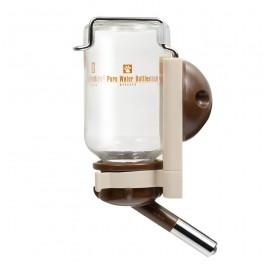 Marukan Pure Water Bottle (Glass) - Brown 600ml (DC47)
