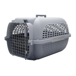 Dogit Voyageur Dog Carrier - Gray/Gray, XLarge - 68.4 cm L x 47.6 cm W x 43.8 cm H (26.9in x 18.7in x 17in) [76636]