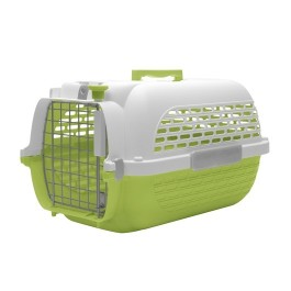 Dogit Voyageur Dog Carrier - Green/White, Small - 48.3 cm L x 32.6 cm W x 28 cm H (19in x 12.8in x 11in) (76607)