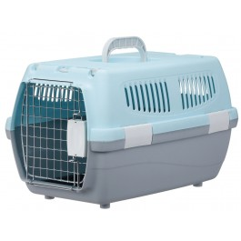 Marukan 2 Door Carry for Dogs & Cats Blue (DP172)