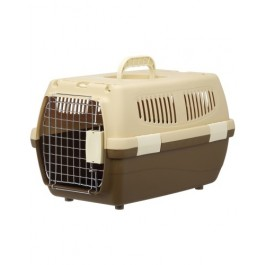 Marukan 2 Door Carry for Dogs & Cats Brown (DP174)