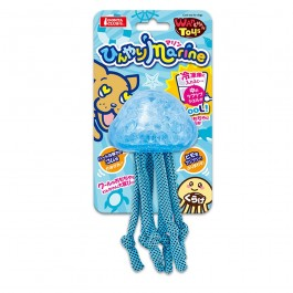Marukan Cool Jellyfish Toys for Dog (DP308) NEW