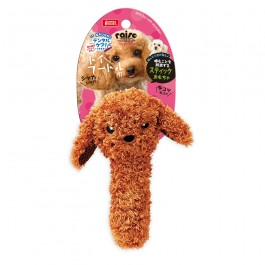 Marukan Stick Shaped Toy Poodle with Squeaker (DP354) NEW