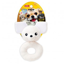 Marukan Ring Shaped Toy Chihuahua with Squeaker (DP356)