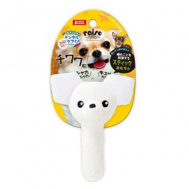 Marukan Stick Shaped Toy Chihuahua with Squeaker (DP357)