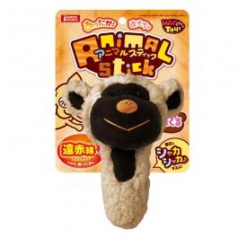 Marukan Lovable Sheep Stuffed Warm Feeling Toy for Dog (DP375)