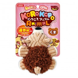 Marukan Lovable Bear Stuffed Warm Feeling Toy for Dog (DP376)