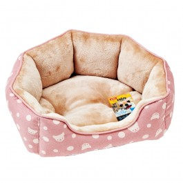 Marukan Exclusive Size Round Bed for Chihuahua and Small Dog (DP391)
