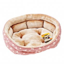 Marukan Oval Shape Size Bed for Chihuahua & Small Dog (DP392)