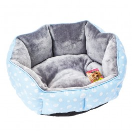 Marukan Exclusive Size Round Bed for Poodle and Small Dog (DP394)