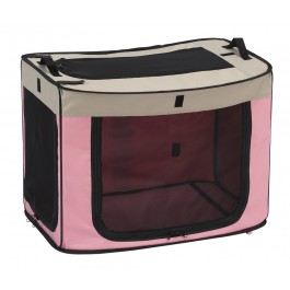 MARUKAN ONE TOUCH CAGE PINK - SMALL (DP669)