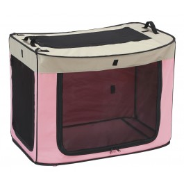 Marukan One Touch Cage Pink - Medium (DP670)
