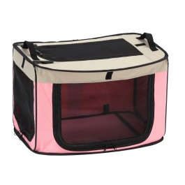 MARUKAN ONE TOUCH CAGE PINK - LARGE (DP671)