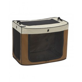 MARUKAN ONE TOUCH CAGE BROWN - AVAILABLE IN SMALL, MEDIUM & LARGE (DP683)
