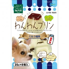 Marukan Milk Pudding Jelly for Dogs (25g X 6PCS) (DP826)