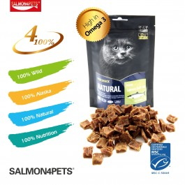 SALMON4PETS PRIME SALMON SOFT BIT FOR CATS  - 70G