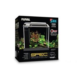 Fluval Spec Aquarium Kit - Black - 10 L (2.6 US gal) [10515]