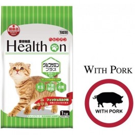 HEALTH ON GLUCOSAMINE PLUS FOR CAT 1 KG (500 G × 2) - WITH PORK
