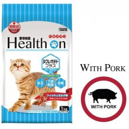 HEALTH ON NUCLEOTIDE PLUS FOR CAT 1 KG (500 G × 2) - WITH PORK