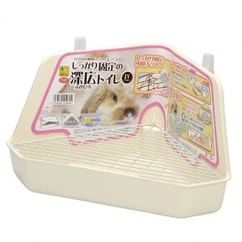 Wild Sanko Fully Fixed Corner Toilet Ivory (P08)