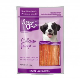 Jerky Time Dry Chicken Jerky Bar for Dogs 100g (JT810155)