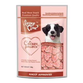 Jerky Time Soft Chicken Pollock Heart Shape for Dogs 100g (JT810681)