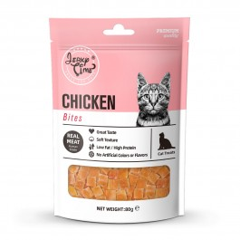 Jerky Time Dried Chicken Jerky Bites for Cat 80g (JT811084) NEW