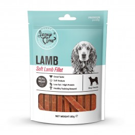Jerky Time Soft Lamb Fillet for Dogs 80g (JT840220) NEW